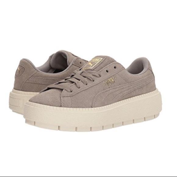 46ff87d587c Puma Suede Platform Trace Sneaker
